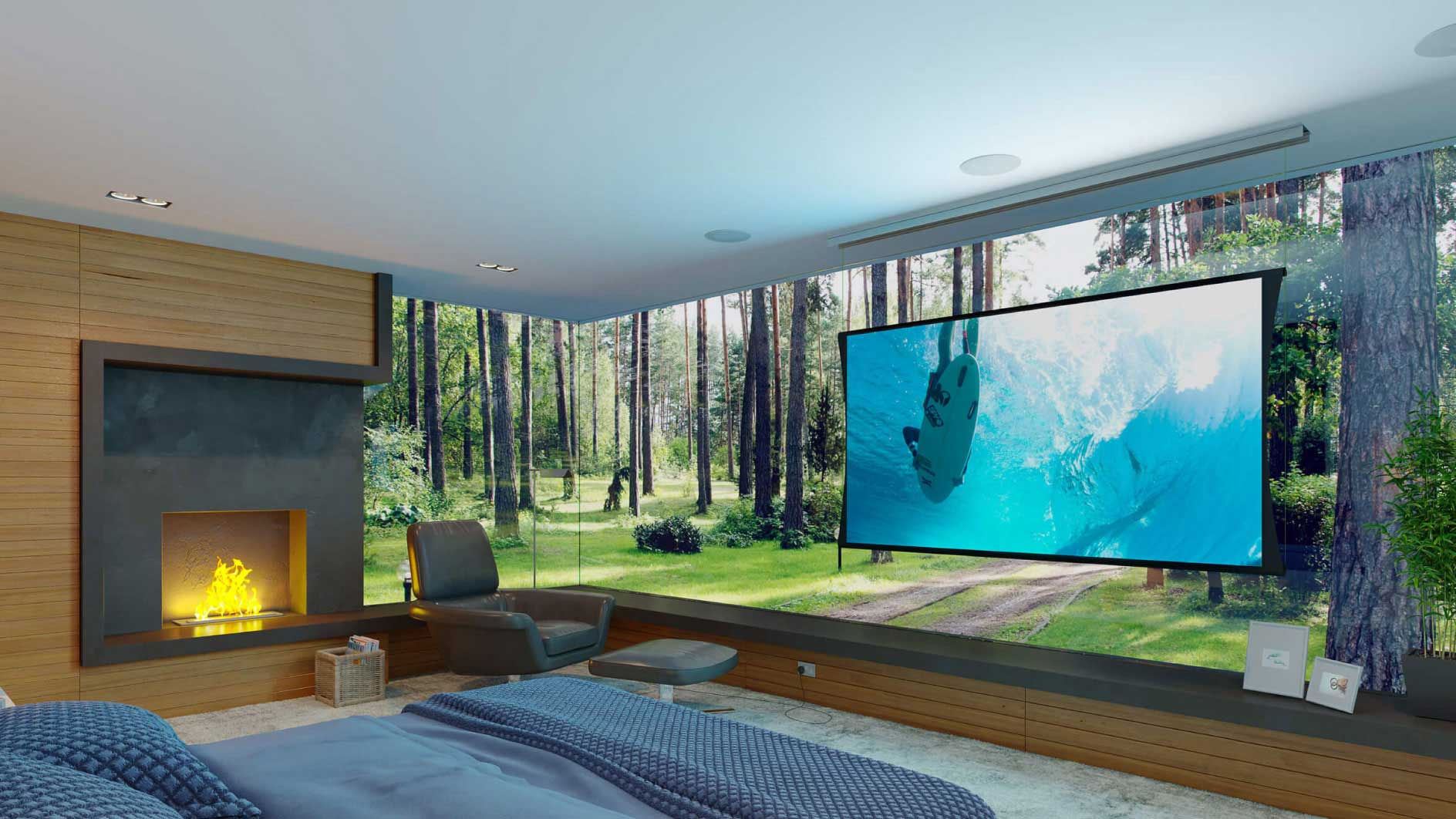 TV Mounting and Home Theater Installation 1